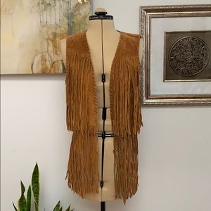 Zara Special Collection Large Open Vest, NWT